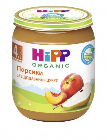 Пюре HiPP Персики, 125 г