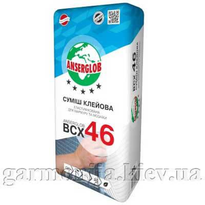 Клей для мрамора и мозаики Anserglob BCX 46, 25 кг, белый, фото 2