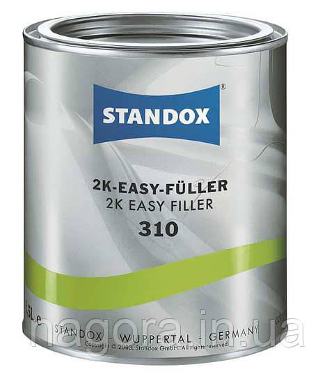 HS грунт-наповнювач STANDOX U7010 сірий + затверджувач (3,5 л+1л)