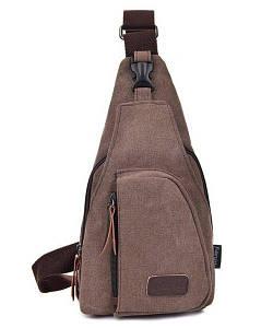 Мужская сумка рюкзак Flash dark brown