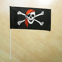 """Флажок """"Пиратский"""" / анархистский флажок, фото 1"""