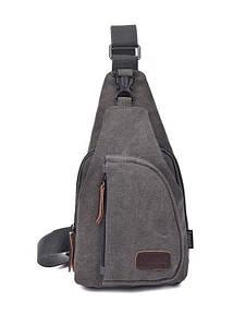 Мужская сумка рюкзак Flash gray