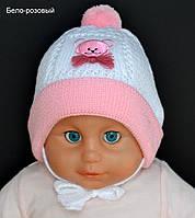 Шапочка для ребенка 3 месяце весеннняя, фото 1
