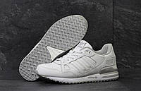 Кроссовки мужские Adidas ZX 750. Кожа 100% Белые