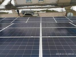 Монтаж солнечных панелей JA SOLAR JAP6 60-265 W