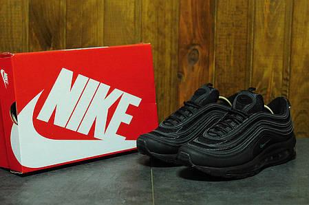 Кроссовки мужские Nike Air Max 97 черные топ реплика , фото 2