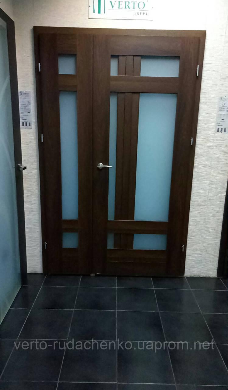 """Двери Verto Лада-Лофт 4.1 цвет Дуб британский """"Verto-CELL"""""""