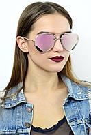 Cолнцезащитные женские очки Dior розовые