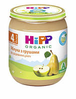 Пюре HiPP Яблоки с грушами, 125 г