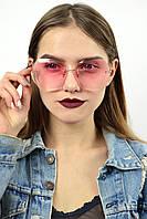 Cолнцезащитные женские очки CHANEL однотонный градиент розовые