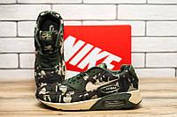 Кросівки чоловічі Nike Air, камуфляж (текстиль). 41-46р
