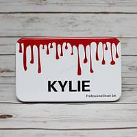 Професійний набір кистей для макіяжу 12шт Kylie professional brush set