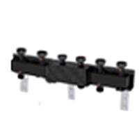 Распределительный коллектор с гидравлическим сепаратором для насосных групп, 3 контура. HIDROFIXX арт. 3318-3