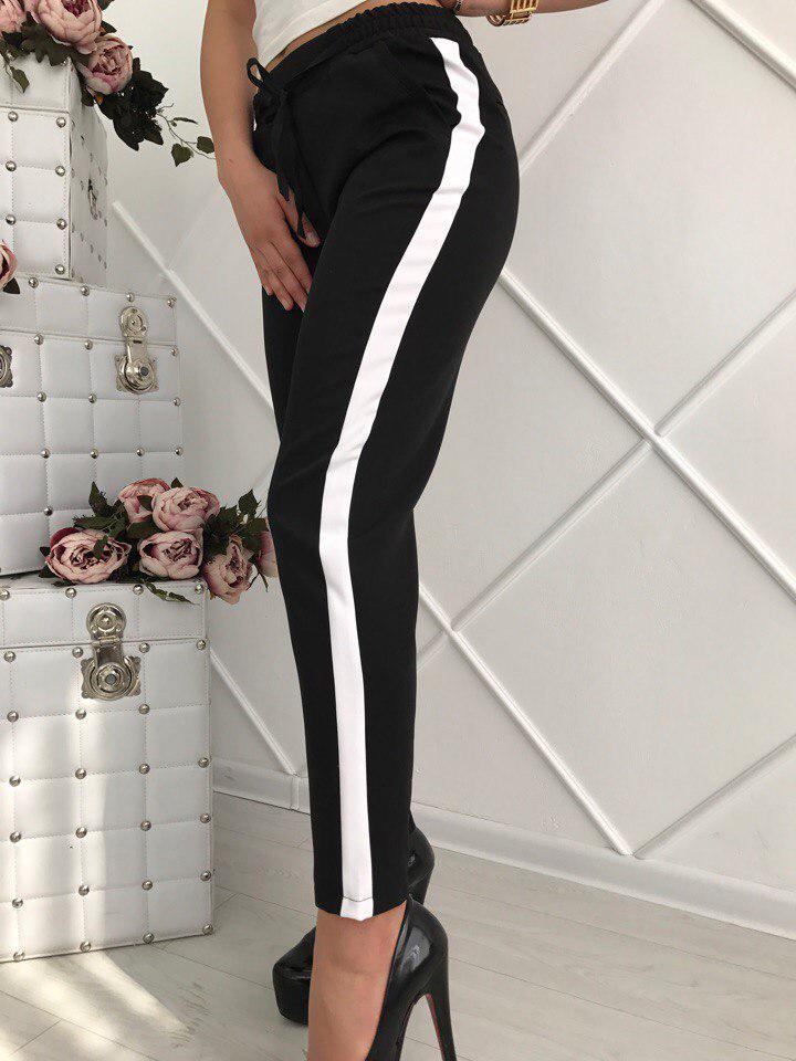 9925f329f260 Женские классические брюки лампас: продажа, цена в Киеве. брюки женские от