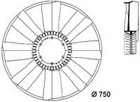 Крыльчатка вентилятора радиатора MERCEDES Actros 0032050106, MEGA Польша