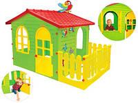 Детский домик MOCHTOYS 190 х 127 х 120 см+ тераса ХХL Польша