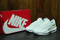 Женские кроссовки Nike Air Max 97  CR7 белые топ реплика