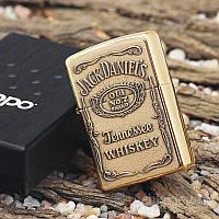 Зажигалка Zippo - Jack Daniel`s.Реплика
