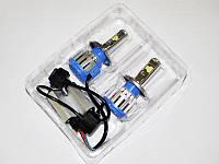 Светодиодные лампы головного света H4 LED 40W 12V 6000к. Светодиодный Биксенон
