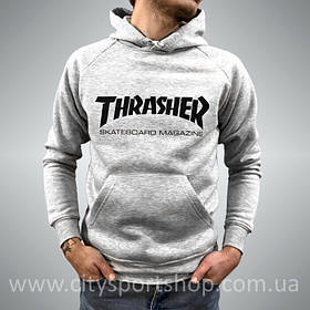 Толстовка с принтом Thrasher Magazine с пикой \ Ориг Бирки