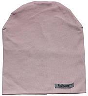 Шапка трикотажная, для девочки, розовая, размер 152-164 см, Robinzone