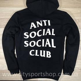 "Толстовка A.S.S.C.""Anti Social social club""   мужская"