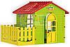 Детский игровой домик Mochtoys с террасой для детей