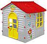 Детский игровой домик Mochtoys 11156 серый