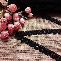 Кружево черное, 2 см, фото 1