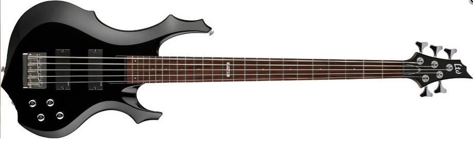 Бас-гитара 5-струнная LTD F105 (BLK), фото 2
