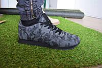 Мужские кроссовки Reebok classic камуфляж серые, копия
