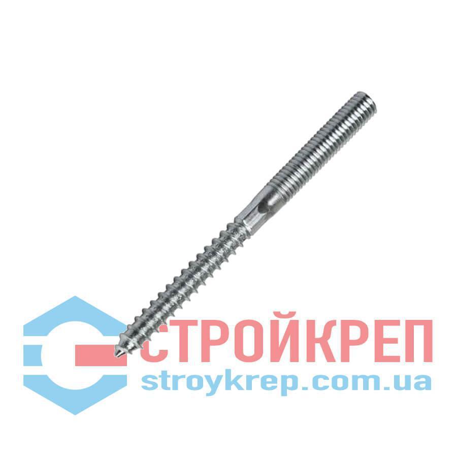Шпилька двухрезьбовая (сантехническая), 8,0х160
