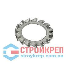 Шайба стопорная зубчатая DIN 6798 A, М4х8