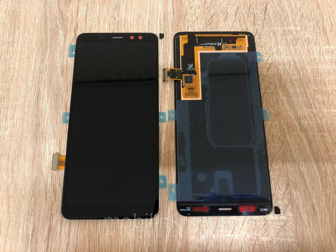 Дисплей на Samsung A530 Galaxy A8(2018) Чёрный(Black),GH97-21406A, Super AMOLED!
