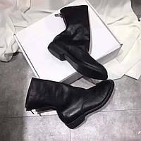 Кожанные ботинки Guidi