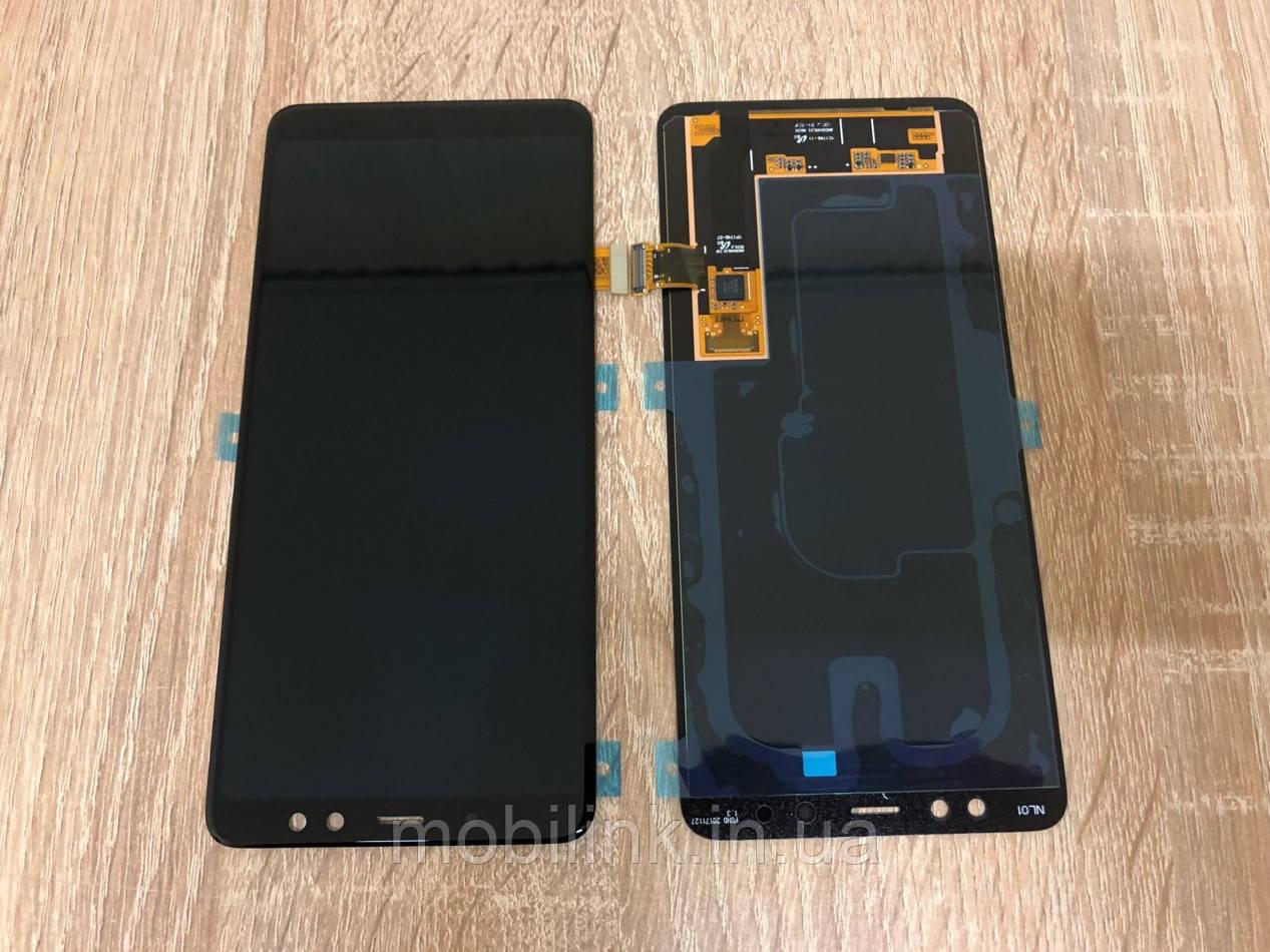 Дисплей на Samsung A730 Galaxy A8+(2018) Чёрный(Black),GH97-21534A, Super AMOLED!