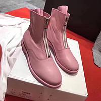 Стильные кожанные ботинки Guidi