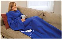 Согревающий плед-одеяло с рукавами Snuggie, фото 2