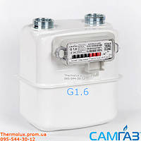 Газовый счетчик Самгаз G1.6 RS/2001-2P (лічильники Самгаз) счетчик Samgas