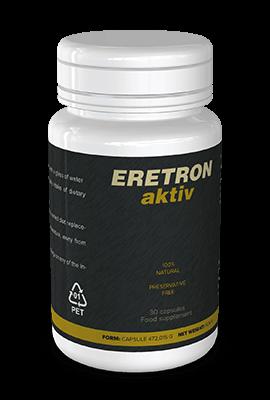 Eretron Aktiv (Эретрон Актив) - капсулы для потенции