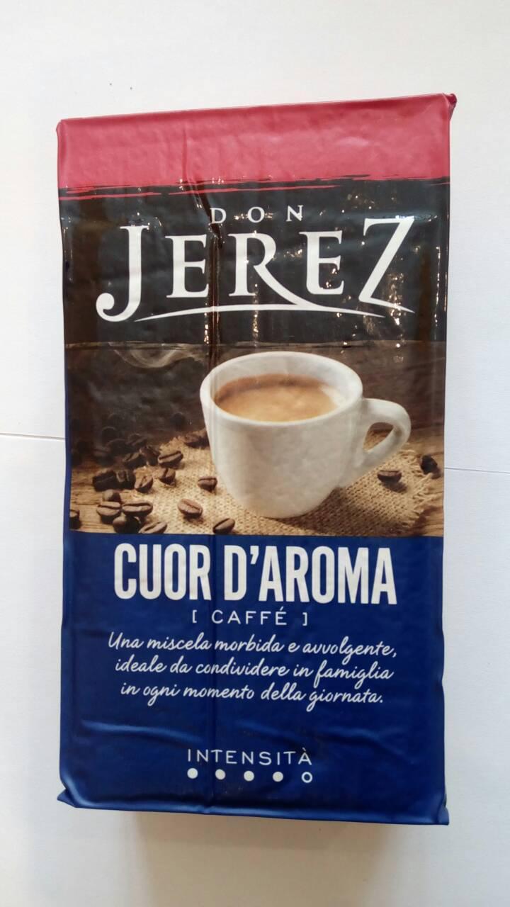 Молотый кофе Don Jerez Cuor d`Aroma 250 гр