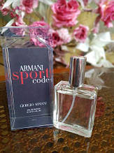 Мужской мини парфюм Giorgio Armani Code Sport ( Джорджио Армани Код Спорт) 30 ml(реплика)