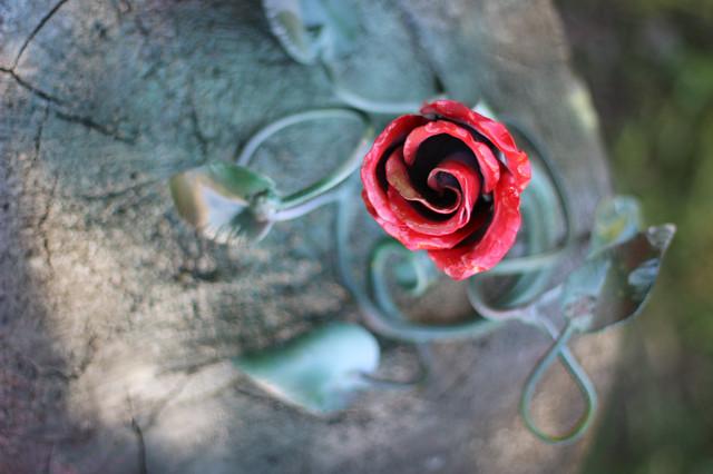 Майстер класс: Куємо троянду з Ковалем Талісманом