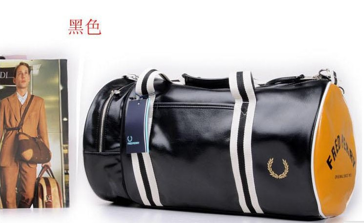 c746c379cc3a Спортивная сумка Fred Perry.Мужская сумка через плечо.Сумка для спорта.Сумка  барабан