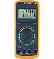 Мультиметр цифровой DT 9206 20А, Тестер DT-9206A