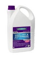Антифриз концентрат G12+ RAVENOL OTC - Protect G12+ Concentrate -75 /цвет лилово-красный/ цена (1,5 л)