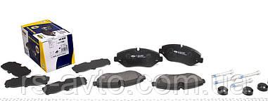 Колодки тормозные (передние) MB Mercedes Sprinter, Мерседес Спринтер (906) , Mercedes Mercedes Vito, Мерседес Вито , Мерседес Вито (W639) (Brembo PF
