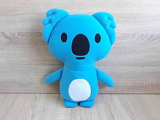 Мягкая игрушка - подушка Коала Блу стикер Вайбер ручная работа