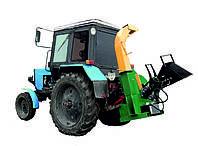 Рубилка МРТГ 180 тракторная (4-6 м3/час) – с гидроподачей. Веткорез