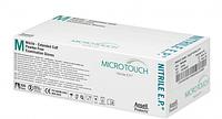 Перчатки смотровые нестерильные неопудренные нитриловые MICRO-TOUCH NITRILE р.(7-8)